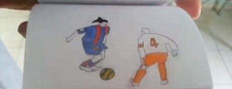 Friday Fun: Amazing Ronaldinho Flipbook