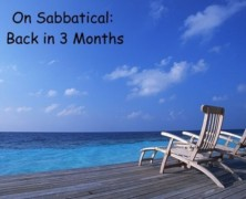 Sabbatical Accountability